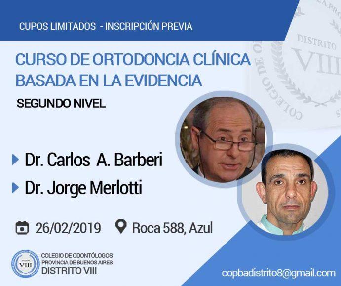 Curso de Ortodoncia Clínica Basada en la Evidencia (Nivel II)
