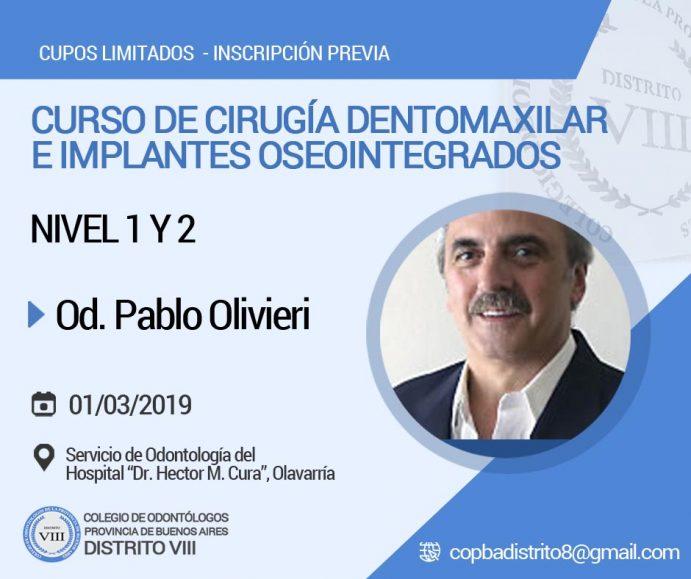 Curso de Cirugía Dentomaxilar e Implantes Oseointegrados (Nivel I y Nivel II)