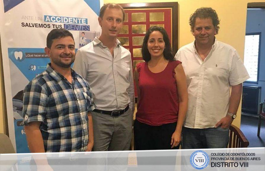 Trabajo conjunto entre el COPBA VIII y el Colegio Odontológico de Córdoba