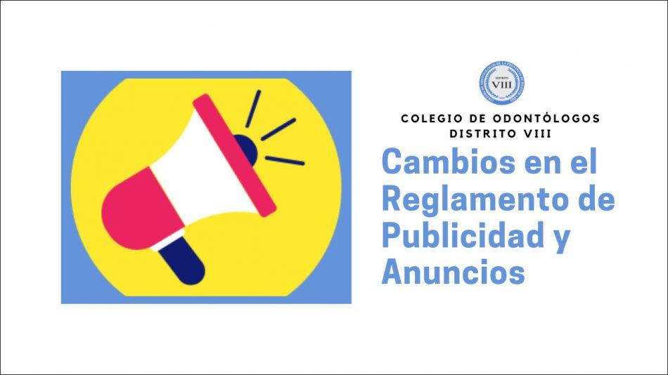 Importantes cambios en el Reglamento de Publicidad y Anuncios
