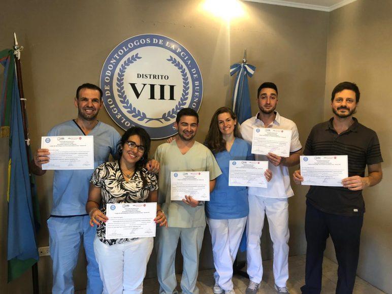 Terminaron los cursos organizados por el Colegio de Odontólogos – Distrito VIII