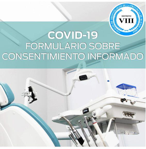 COVID-19: Formulario sobre Consentimiento Informado