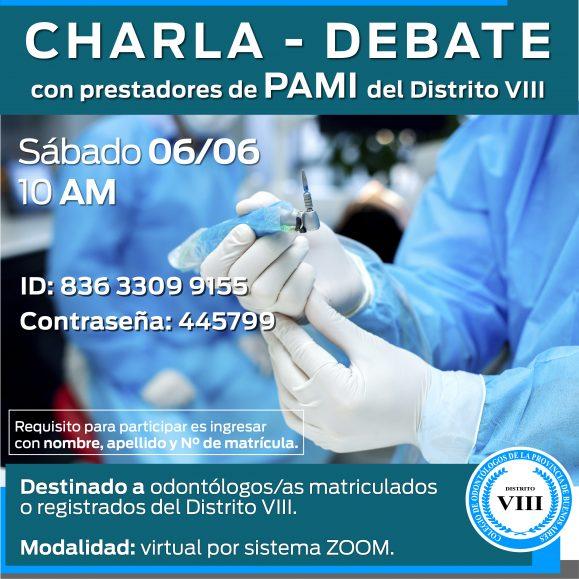 Charla debate con prestadores de PAMI del Distrito VIII