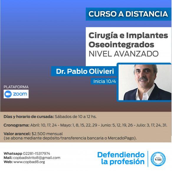 Curso de Cirugía e Implantes Oseointegrados NIVEL AVANZADO