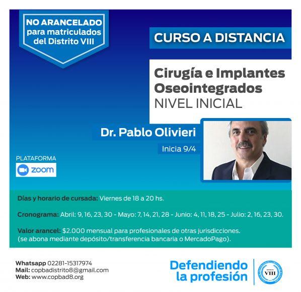 Curso de Cirugía e Implantes Oseointegrados NIVEL INICIAL
