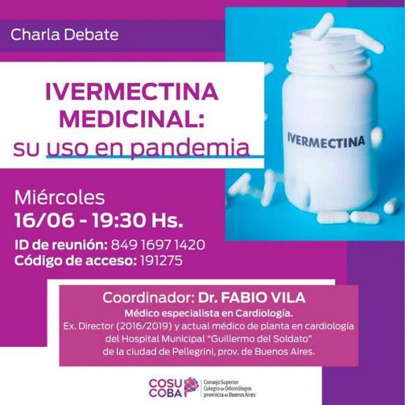 Charla debate Ivermectina Medicinal: su uso en la pandemia